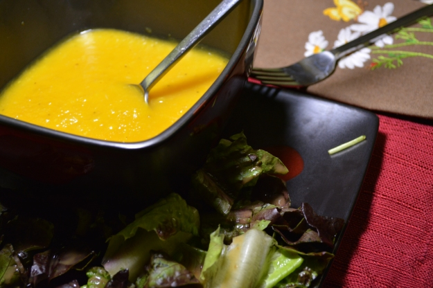 Pair with a leafy green salad and you have an antioxidant party on a plate.