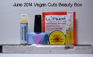 VEGAN CUTS SUBSCRIPTION BEAUTY BOX